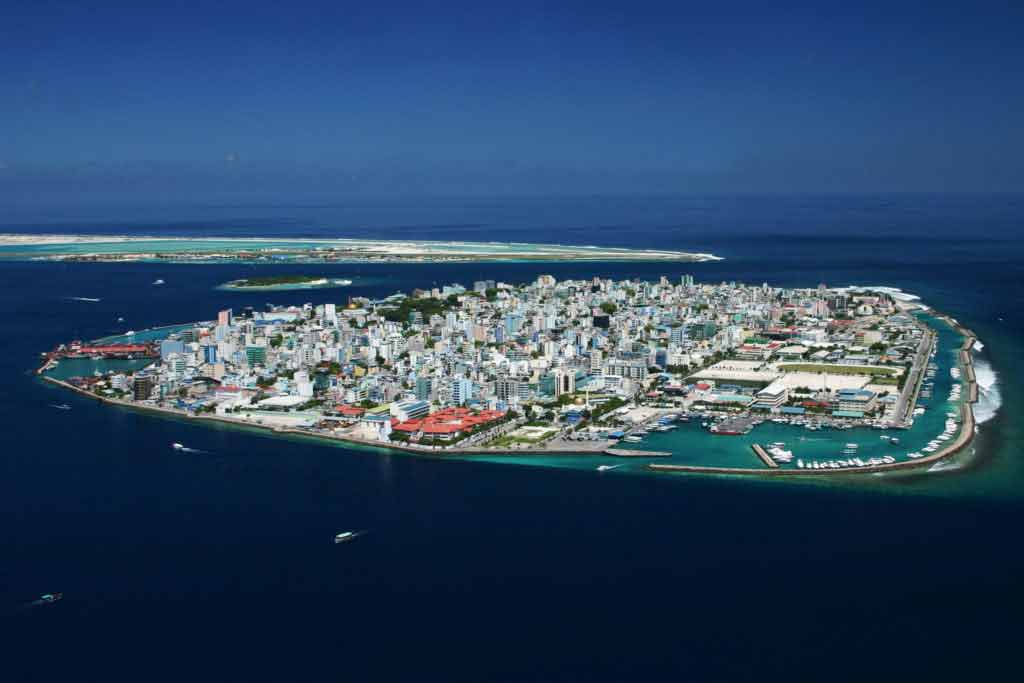 Capital Island of Maldives